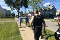 Neighborhood Walk around Park Street. August 20, 2020. Photos Credits - Dan Warnecke
