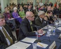 Legislative hearing in Rutland, Vermont
