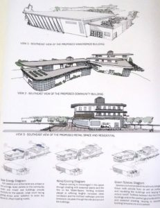 Proposed buildings