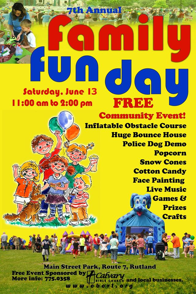 Family Fun Day~ Saturday, June 13, 2015 – Project Vision ...